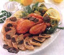 Galletto Vallespluga al tartufo di Norcia