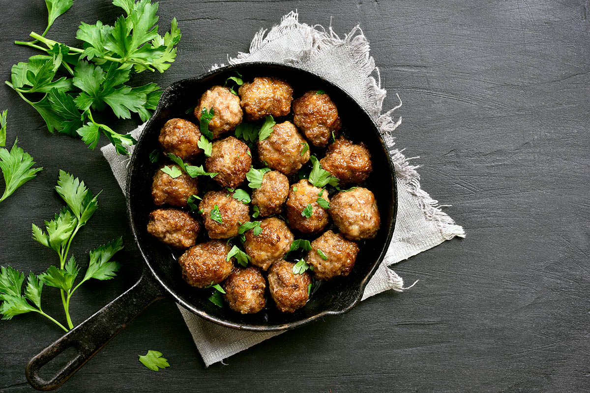 Polpette di Galletto Vallespluga